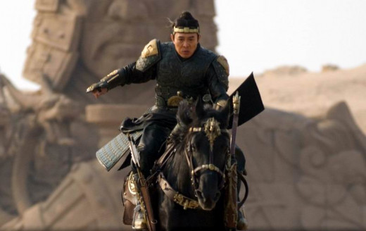 Jet Li in Tomb of the Dragon Emperor (2008)
