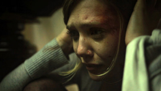 Screen shot of Elizabeth Olsen in Silent House