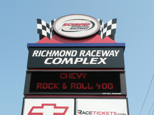The RIR Sign in at the Race in September 2007.