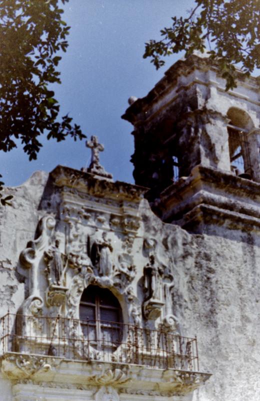 Mission San Jose in San Antonio, Texas