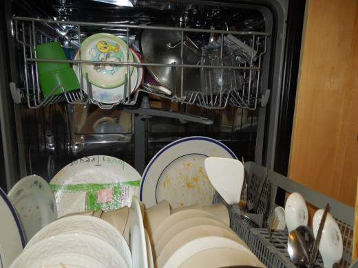 A Full Load of Dirty Dishes