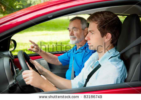Teenager Learning to Drive