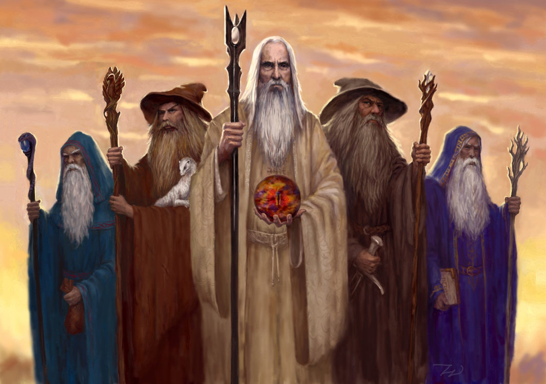 What Happened to the Blue Wizards in the Lord of the Rings? | HubPages