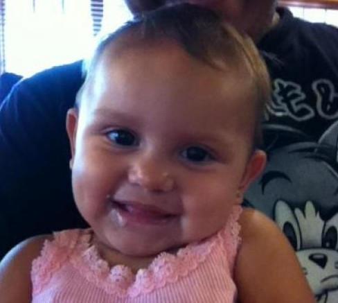 My Great Granddaughter At Six Months