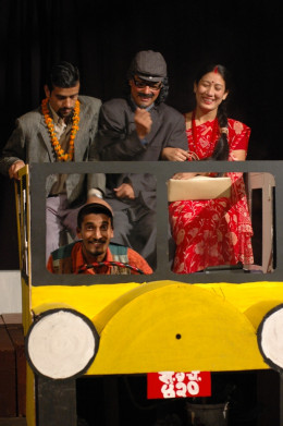 Dr. Knock by Jules, Romains, directed by Sunil Pokharel, produced by Aarohan-Gurukul