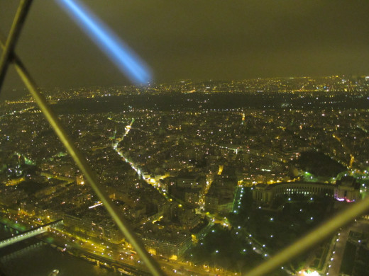 From the top of The Eiffel Tower