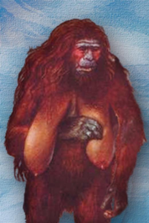 A representation of a female Almas