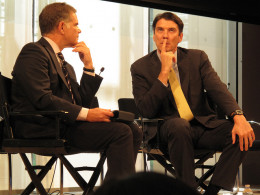 In good requirements elicitation, we get our customer really thinking about the project, the way a good interviewer makes his subject (in this case, Tim Armstrong, CEO of AOL) thinking.