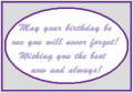 Birthday Poems and Sayings