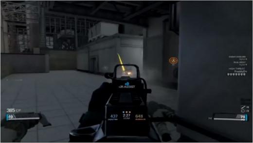 Backlight Retribution GamePlay Snapshot.