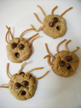 Halloween Monster Cookies - After Baking