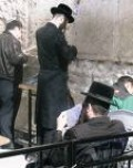 Jews Pray At The Wailing Wall