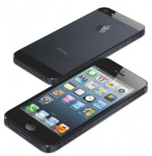 The iPhone 5 also features an aluminum back, which is more prone to dents and showing scratches.