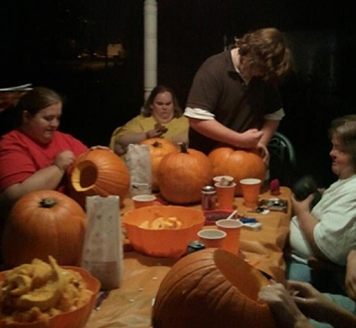 Pumpkin Carving Party 2011