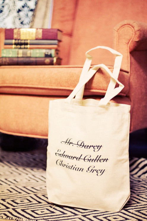50 Shades of Grey inspired Tote Bag