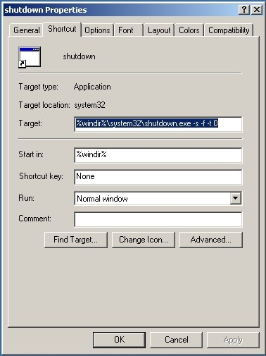 Fig 8. Selecting the Change Icon Button