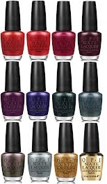 OPI James Bond Skyfall Collection