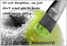 The truth is, Monsanto is terrified of having their products labelled, and for good reason - people never willingly ingest poison unless they are suicidal.