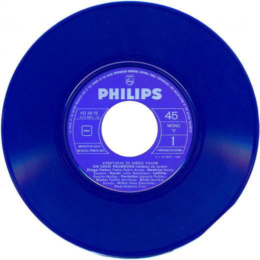 45 rpm vinyl record