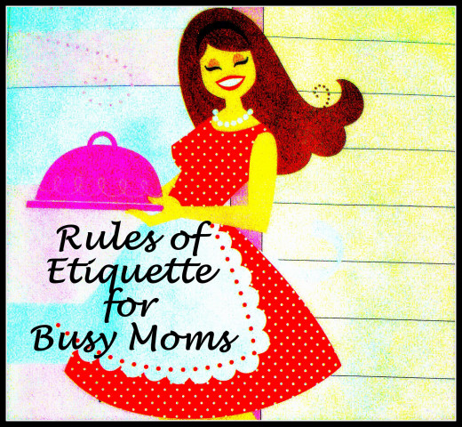 Do you follow these rules of etiquette?