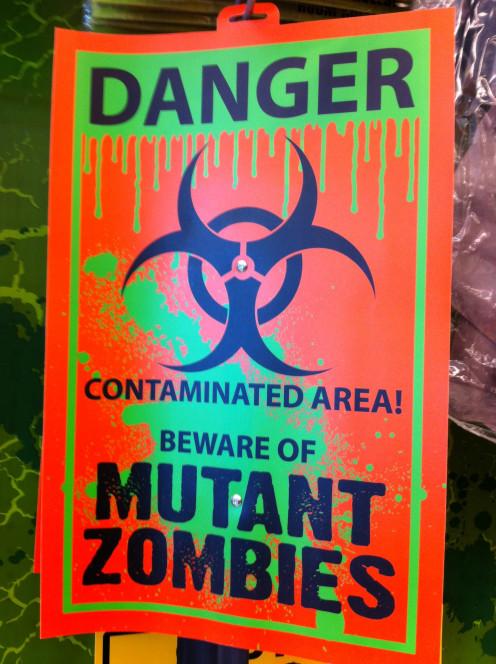 Zombies Ahead!