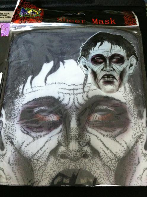 Zombie Sheer Mask