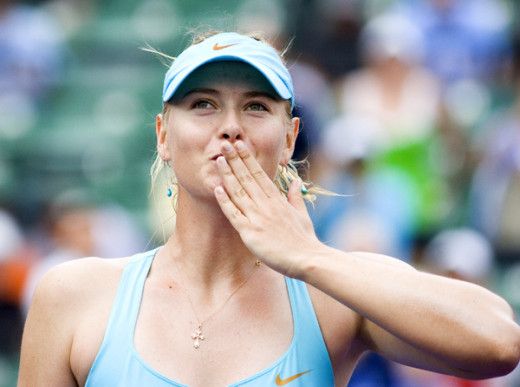 Maria Sharapova is one of the most stylish tennis players in the WTA.