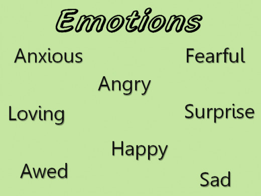 We all share emotions.