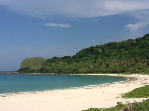 Maira-ira beach, AKA Blue Lagoon