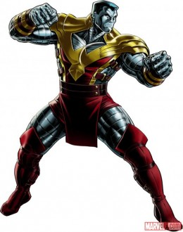 Colossus's Phoenix costume as seen in the ongoing Avengers vs X-men crossover event.