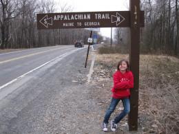 Appalachian Trail entrance.