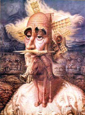 Octavio Ocampo's Visions of Quixote