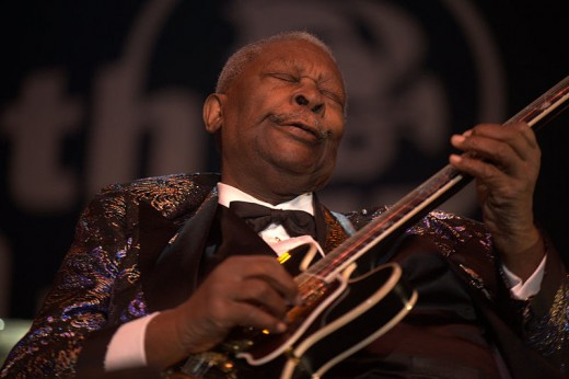 BB King may be the most influential bluesman of all time.