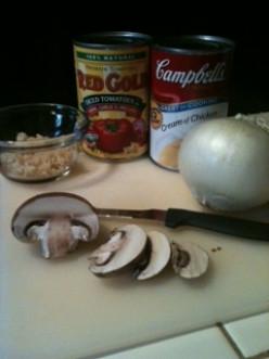 Chelle's Immune Building Chicken Tomato Basil Soup