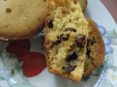 Chocolate Raisin Muffins