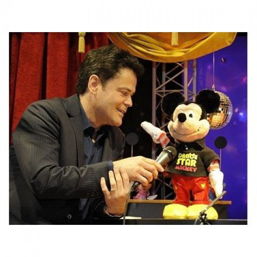 Fisher Price Dance Star Mickey with Donny Osmond