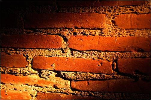 His Perfect Brick Wall