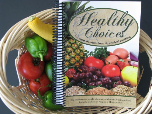 Keepers at Home- Healthy Choices Cookbook