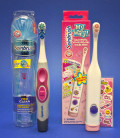Electric toothbrushes for children come with popular characters to make brushing fun.