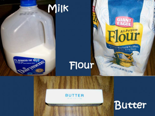 Return pureed mixture to the soup pot and add butter.  Blend milk and flour in a cup with a fork and add to pot.  Stir thoroughly.  Source:  Sharyn's Slant