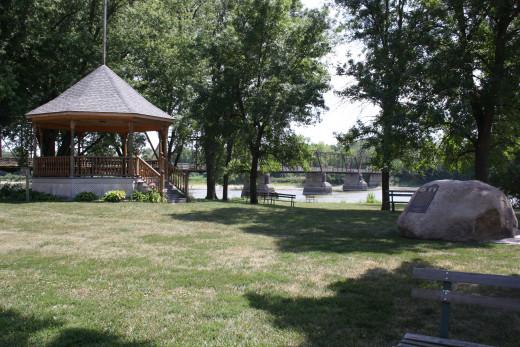 Bentonsport Town Park
