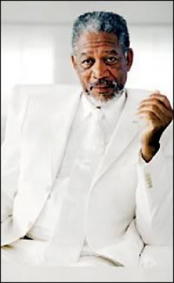 Morgan Freeman: One of Sixty Sexy Actors~60+ Years Old