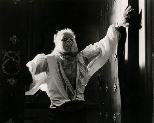 Oliver Reed in Curse of the Werewolf (1961)