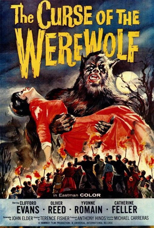 Curse of the Werewolf (1961) poster