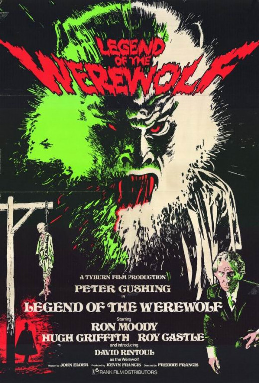 Legend of the Werewolf (1975) poster