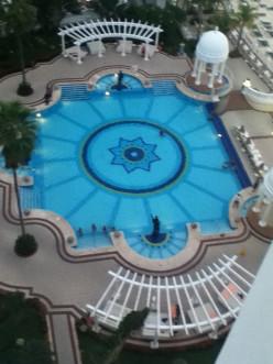 Infinity Pool, Riu Palace Las Americas, Cancun