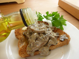 Heap up the mushrooms onto hot, buttered wholemeal toast, garnish with parsley and a delicate drizzle of white truffle oil to add depth.
