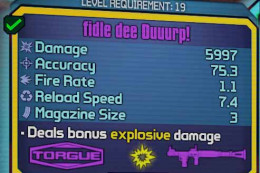 Borderlands 2 use rocket launcher to defeat Bloodwing - behold the Fidle Dee Duuurp!