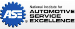 The logo is for the National Institute for Automotive Service Excellence.