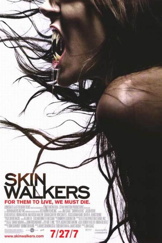 Skinwalkers (2006) poster